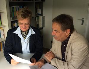 Sabine Degener und Walter Braun